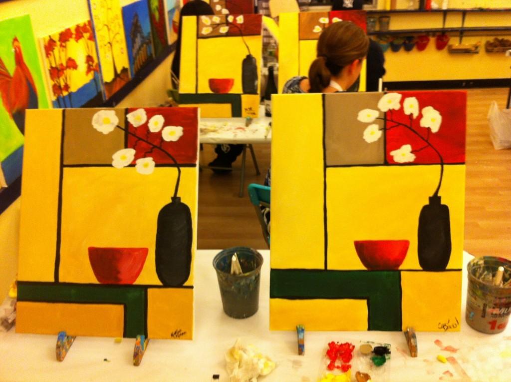 Art Class Date 2