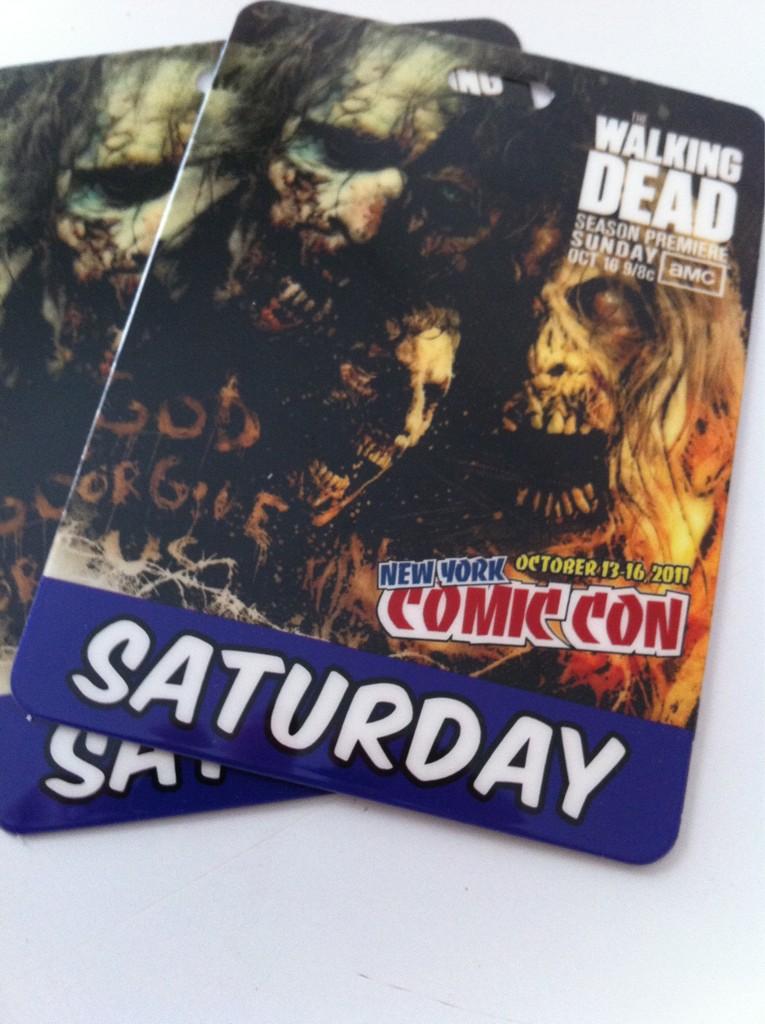 Comic Con Date 1